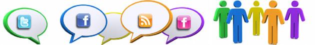 Hay diferentes gustos en Internet para decantarse por uno u otros sistemas de comunicación 2.0