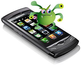 Los virus también llegan a los móviles iPhone, Android, Bada, Blackberry, Symbiam...