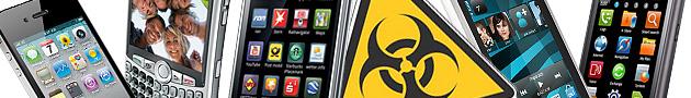 En un futuro no muy lejano los móviles serán también objetivos de las aplicaciones malware más comunes.