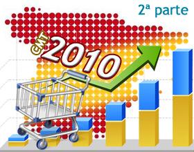 Magníficos resultados para el comercio electrónico del 2010 en España. 2ª parte