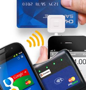 iPhone vs Android vs Blackberry vs Nokia en la lucha por un estándar en la forma de pago