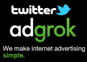 Twitter adquiere AdGrok para su publicidad. ¿Será mejor que Google Adwords?