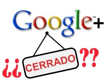 Rumores sobre el cierre de Google+