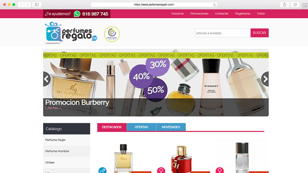 Perfumes Regalo