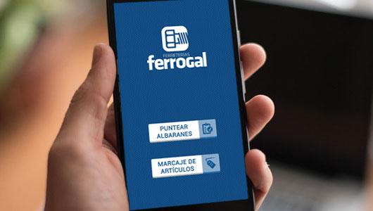 App Ferretería Ferrogal