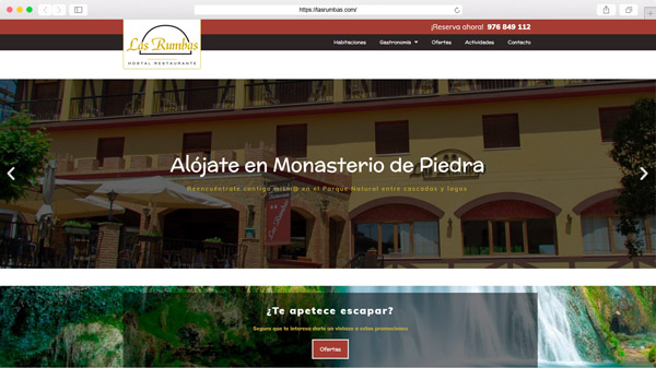 Hostal Restaurante Las Rumbas